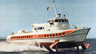 What Is The Difference Between The Jetfoil And Conventional Hydrofoils Jetfoil Mini Encyclopedia Khi Jps Co Ltd
