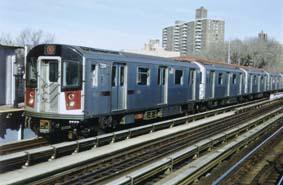 ニューヨーク市交通局向け地下鉄...